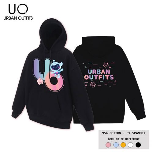 Áo Hoodie Nam Nữ Form Rộng URBAN OUTFITS IN BOTS UO HOO13